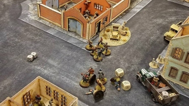 Total chaos on the objective.