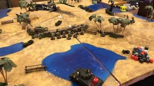 Chindit armor deployed.
